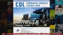 CDL  Commercial Drivers License Exam CDL Test Preparation