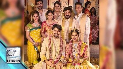 Chiranjeevi's Daughter Srija's Wedding Pictures