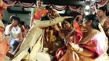 Megastar Chiranjeevi Daughter Sreeja marriage Video    Mega Family   Allu Arjun   Ram Charan   www.CiniGola.com