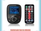 Modulateur FM 2015nouvelle 1Kit mains libres Bluetooth Transmetteur FM Kit Voiture lecteur