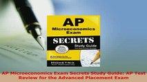 Download  AP Microeconomics Exam Secrets Study Guide AP Test Review for the Advanced Placement Exam Read Online