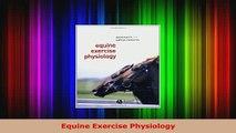 PDF  Equine Exercise Physiology PDF Full Ebook