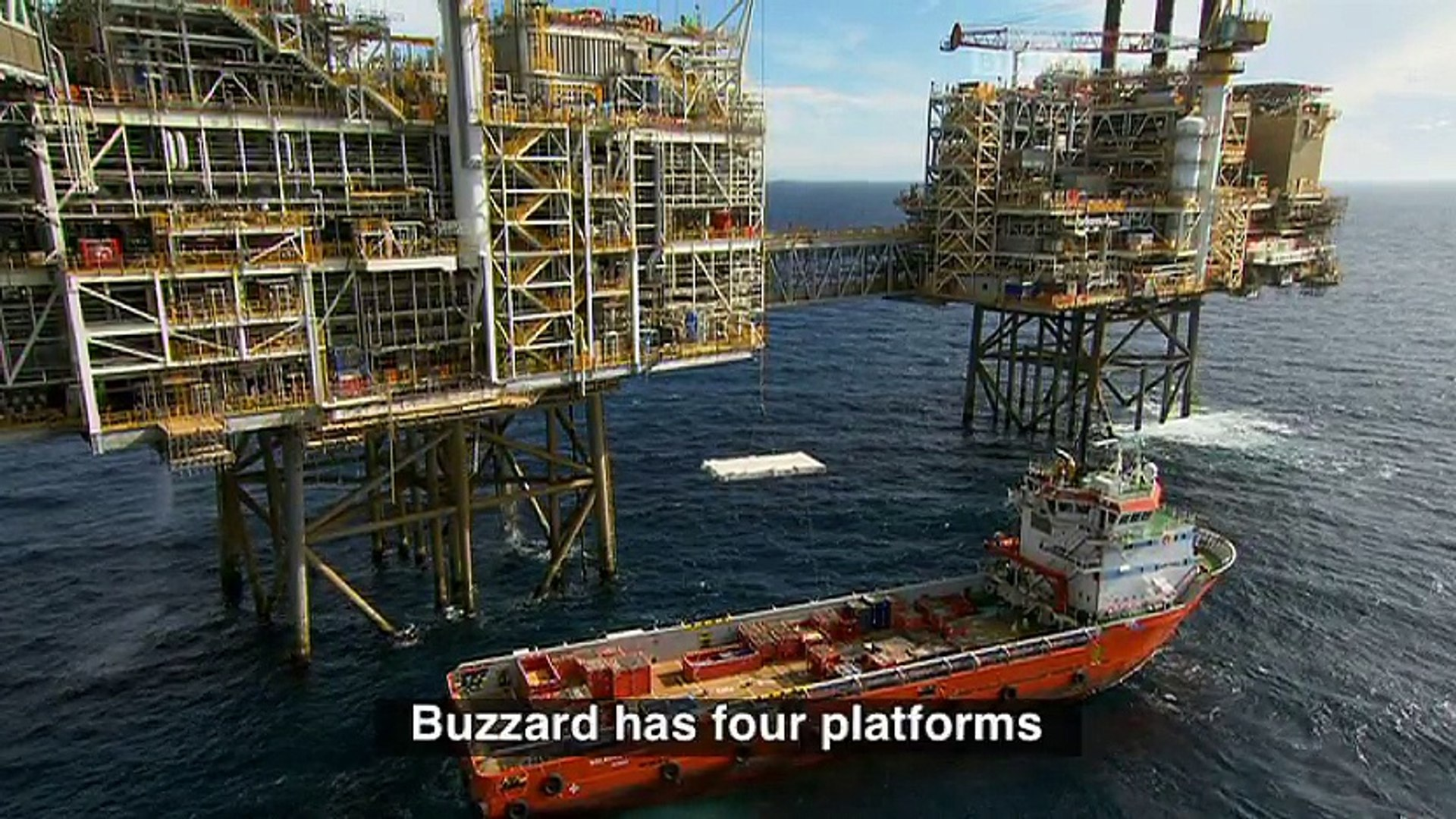 Life Offshore  Live at offshore oil rig