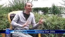 Christophe Willem - Pourquoi s'inscrire à la Nouvelle Star ?