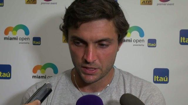 Tennis - ATP - Miami : Gilles Simon «Il a mieux joué que moi»