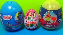 THOMAS & Friends surprise egg Kinder surprise egg Disney Mickey Mouse CLUBHOUSE