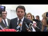 USA - Renzi in visita a Chicago - punto stampa alla Scuola italiana (30.03.16)