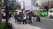 東日本大震災 地震直後のアメ横