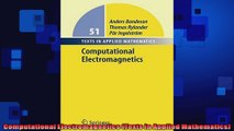 Read Computational Electromagnetics for RF and Microwave