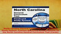 PDF  North Carolina General Curriculum Test Flashcard Study System Practice Questions  Exam Read Online