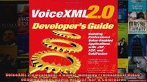 VoiceXML 20 Developers Guide  Building Professional Voiceenabled Applications with JSP