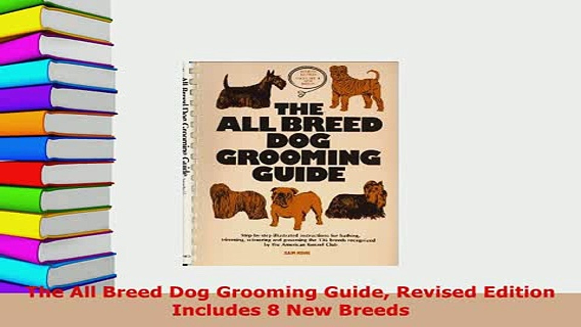 The stone guide to dog grooming for all breeds ebook | ben stone.