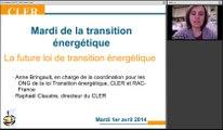 Mardi de la transition énergétique - La loi de transition énergétique 1/1