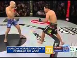 22-02-2016 - MARLON MORAES MANTÉM O CINTURÃO - ZOOM TV JORNAL