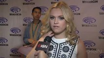The 100 - Eliza Taylor Talks Lexa and What Clarke Does Next (FULL HD)