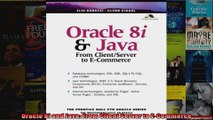 PDF Download] Oracle 8i and Java: From Client Server to E