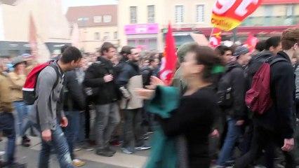 Manif contre loi El Khomri Moulins
