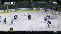 Michigan vs. Penn State - B1G Mens Hockey Tournament Highlights