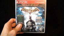 Unboxing batman arkham asylum Game of the year GOTY for PS3 Rocksteady WB games