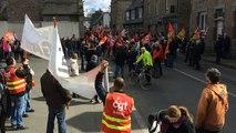 Manifestation contre la loi travail à Guingamp