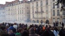 Manifestation contre la loi travail à Nantes