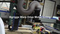 Bgriggs CNC Warp Drive Project motor tuning