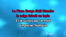 Karaoké Nathalie - Gilbert Bécaud *