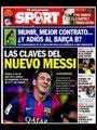 Noticias 7 Septiembre de 2014 Principales Portadas Noticias Diarios Periódicos en España Spain News
