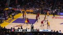 Dwyane Wade Blocks Kobe Bryant Heat vs Lakers March 30, 2016 NBA 2015-16 Season