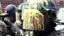 Heurts avec la police lors de manifestations de lycéens