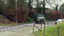 Belgian police wrap up raid on abandoned hotel at Franco-Belgian border