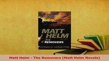 PDF  Matt Helm  The Removers Matt Helm Novels Read Online