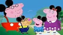 Peppa Pig Mickey Mouse Clubhouse Finger Family Songs _ Finger Family Nursery Rhymes Lyrics