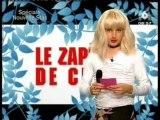 Zapping de chris Nouvelle star (finale)