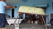 Video Doutor das banheiras, fabrica, pintura de banheira, pintura em banheira de hidro pintura fibra ferro
