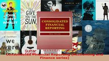 PDF  Consolidated Financial Reporting Accounting and Finance series Download Full Ebook