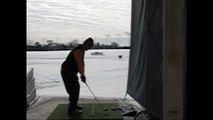 Stack & Tilt Golf Swing (sort of...)