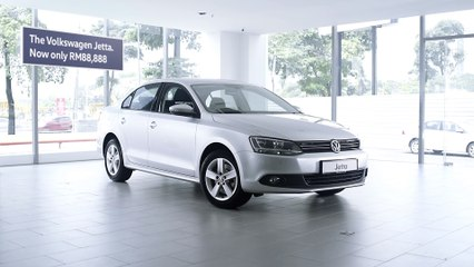 The Volkswagen 'Drop Everything' sale. The Jetta.