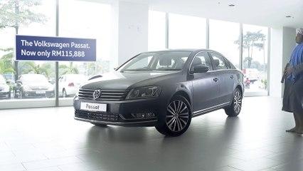 The Volkswagen 'Drop Everything' sale. The Passat.