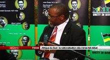 Afrique du Sud - La nationalisation des mines fait débat