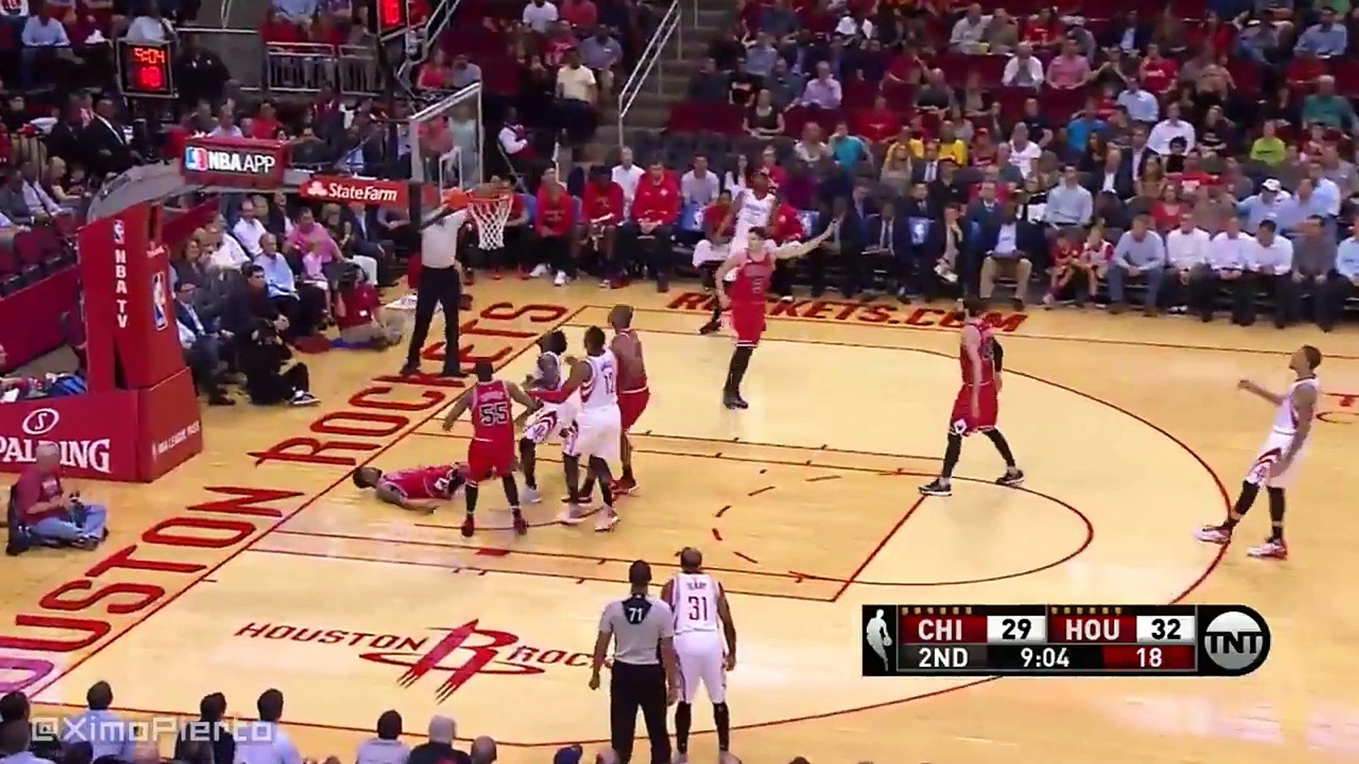 Chicago Bulls vs Houston Rockets