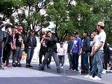 Triggerz aka YungR@iO vs Arrow aka SpiritNamez@【名古屋052session Vol.5 】Battle R1 Oct.05/2011