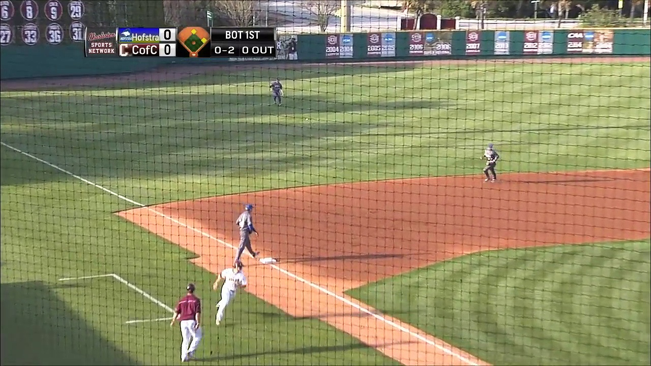 4.03.15 Baseball vs. Hofstra Highlights