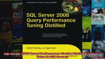 SQL Server 2008 Query Performance Tuning Distilled Experts Voice in SQL Server