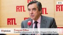 """François Fillon : """"La primaire commencera quand on connaîtra les vrais candidats, (...) quand ce cirque aura cessé"""""""
