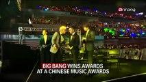 BIG BANG WINS AWARDS AT A CHINESE MUSIC AWARDS