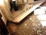درعا مدينة بصر الحرير  اثار الدمار الهائل الذي خلفه القصف العشوائي على منازل المدنيين بتاريخ 16  17  4  2012 ج 5