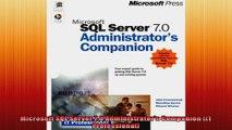 Microsoft SQL Server 70 Administrators Companion IT Professional