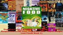 Download  Negative Food Eat Negative Live Positive  Rapid Weight Loss In 90 Days Negative Food  PDF Free