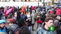 """La """"Nuit Debout"""" du 31 Mars, place de la République"""